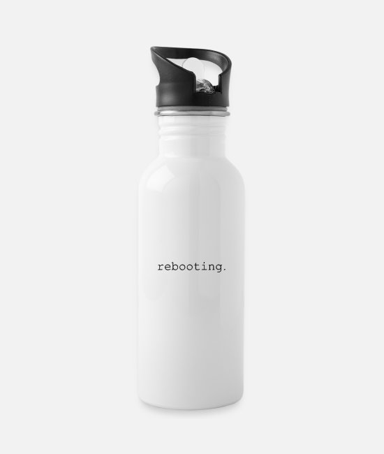 Load Mugs & Drinkware - rebooting - Water Bottle white