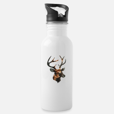 Funges Deer and Mushroom - Water Bottle