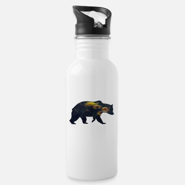 Funges Bear and Mushroom - Water Bottle