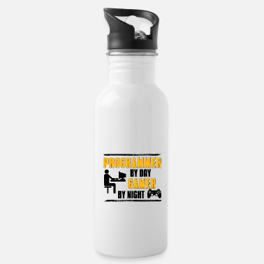 Techie Programmer Coder Software Developer Gift - Water Bottle