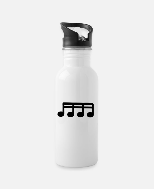 Guitar Mugs & Drinkware - sixteenths - Water Bottle white