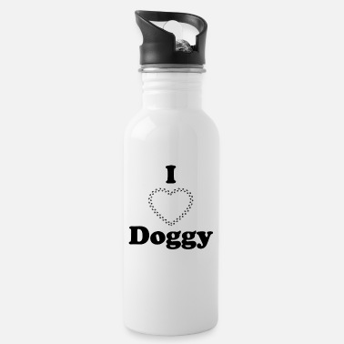I love doggy - Water Bottle