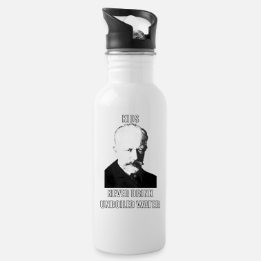 Classical Music Meme Tchaikovski Unboiled Water - Water Bottle