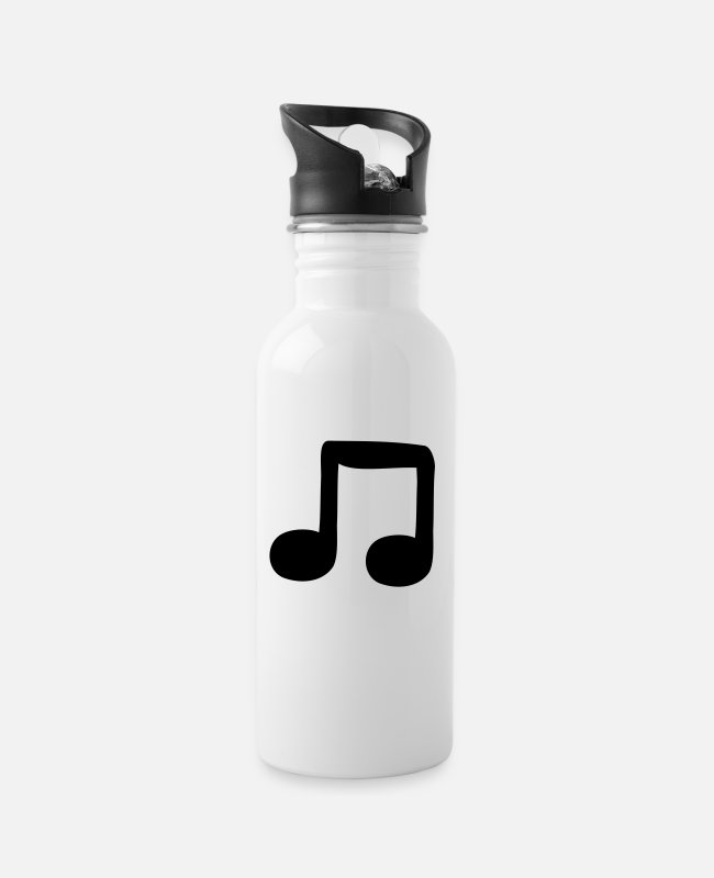 Guitar Mugs & Drinkware - quavers - Water Bottle white