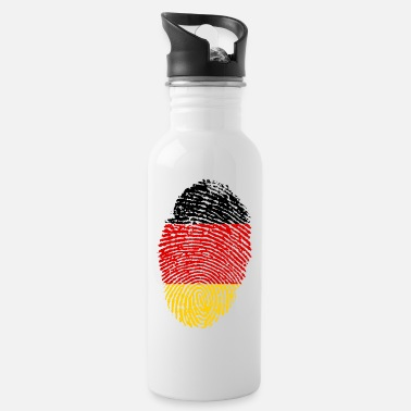 Imprint Imprint Germany Imprint with the flag Germany - Water Bottle