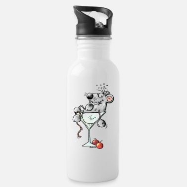 Comic Cocktail Funny Coctail Mouse - Water Bottle
