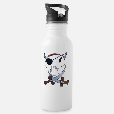 Pirate Cloth Priate clothing - Water Bottle