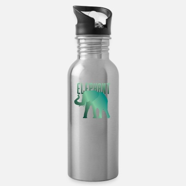 Trendy Trendy Elephant Proboscis Safari - Water Bottle