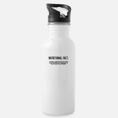 Aesthetic Nutritional Fact - Water Bottle