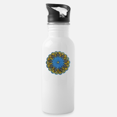 Funny Pictures Mandala. cool pictures, freedom, funny pictures - Water Bottle
