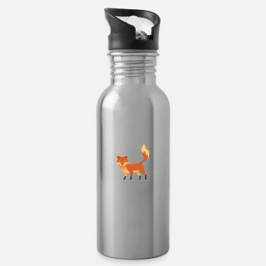 Clever Fox - Clever - Clever - Gift - Drinkfles