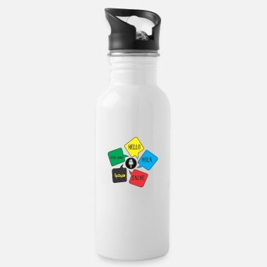 Language Languages - Water Bottle