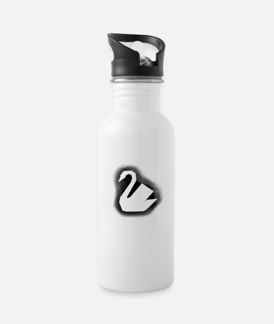 Pregnant Mugs & Drinkware - swan - Water Bottle white