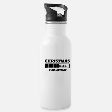 Melt Matching Family Christmas Loading Please Wait - Water Bottle
