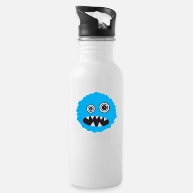 Scary Monster Funny Scary Monster Face - Water Bottle