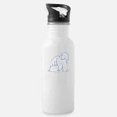 Polar bear familie - Drinkfles