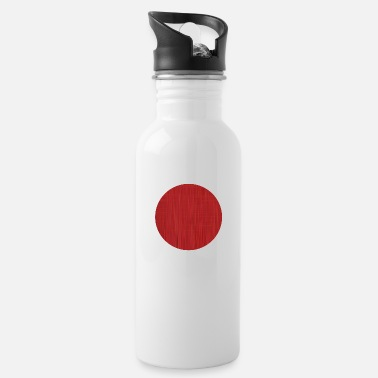 Texturas Red Circle - Water Bottle