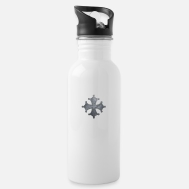 Iron Metal Occitan cross metal iron - Water Bottle