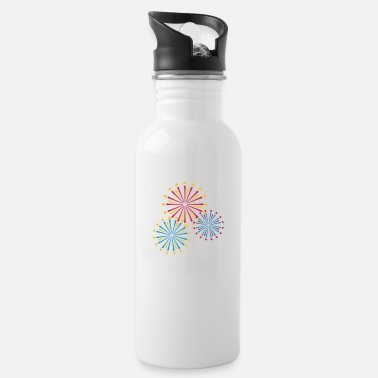 Fireworks Firework - Water Bottle
