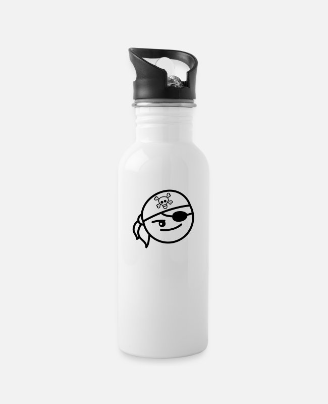 Boss Mugs & Drinkware - Pirate Boy - Water Bottle white