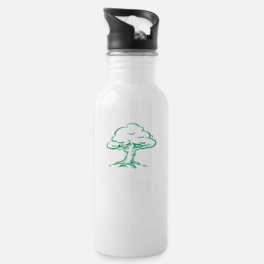 Tree Forest Nature - Water Bottle