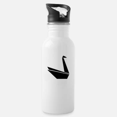 Swan Swan Swan Paper - Water Bottle