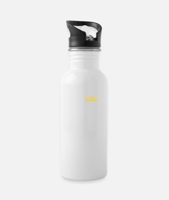 Mami Mugs & Drinkware - SUPER MAMMY! - Water Bottle white