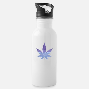 Rectangle Cannabis - Water Bottle