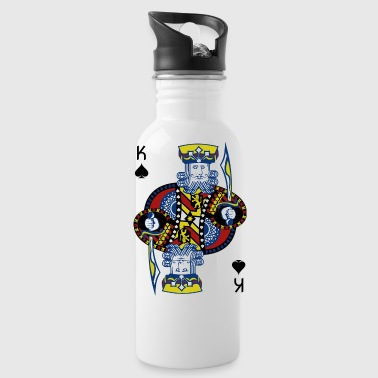 King of Spades Poker Hold'em - Water Bottle
