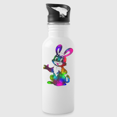 Colorful Easter Bunny super sweet - Water Bottle