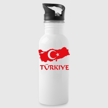 Türkiye turkey turkish home country - Water Bottle