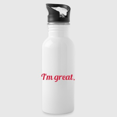 I'm great - Trinkflasche