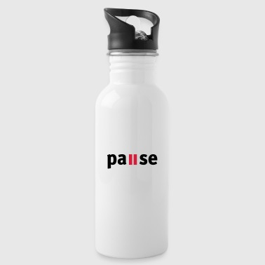 Pause - Water Bottle