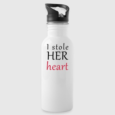 And HER heart table - Water Bottle