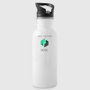 UBIQwhattheforkHodl - Water Bottle