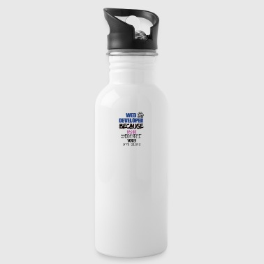 Web developer - Water Bottle