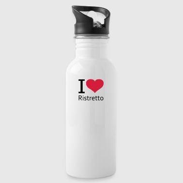 svgHeartRistretto - Water Bottle