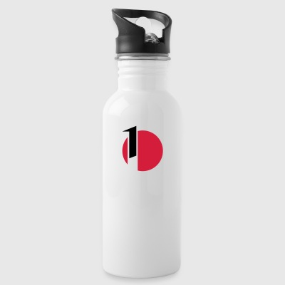 Teeny sailing class sail symbols - Water Bottle