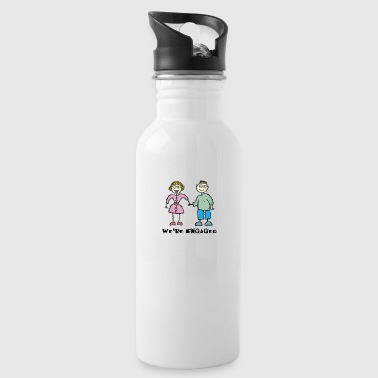 We're Engaged - Water Bottle