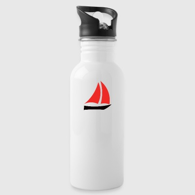 sailboat - Water Bottle