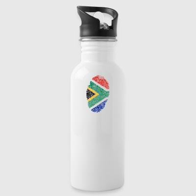 Fingerprint - South Africa - Water Bottle