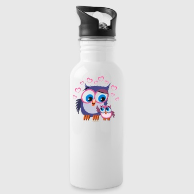 10-31 OWLS - DOGS - Water Bottle