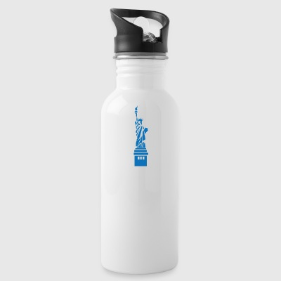 statue of Liberty - Water Bottle