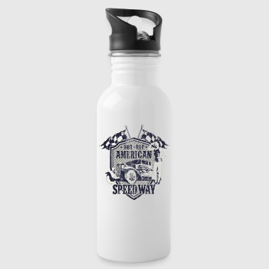 SPEEDWAY AMERICAN HOTRODS - Hot Rod Gift - Water Bottle