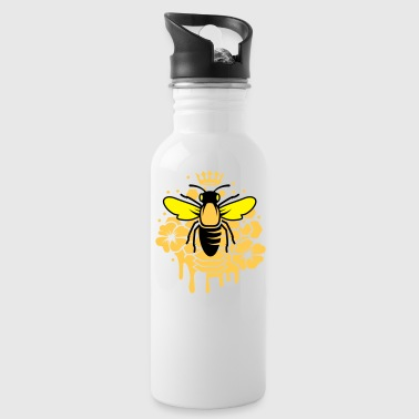A bee with a crown - Water Bottle