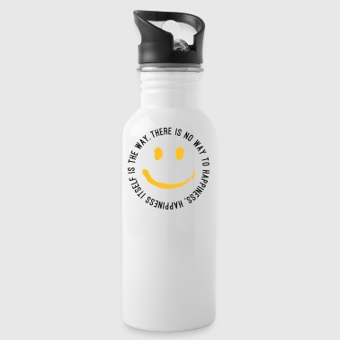 Way to Happiness - Water Bottle