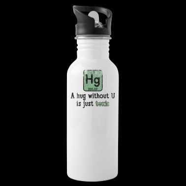 Funny Science Chemical Element Hg Toxic Hug Gift - Bidon