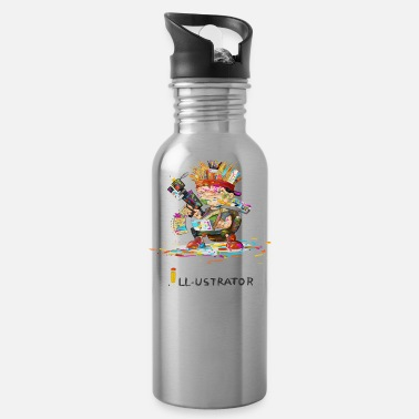 Illustration illustrator - Water Bottle