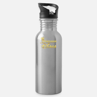Diana PRINCESS PRINCESS QUEEN GIFT Diana - Water Bottle