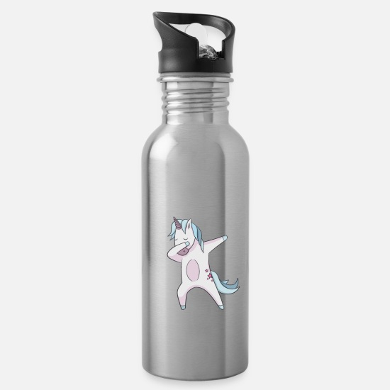 Birthday Mugs & Drinkware - 2008 T-Shirt Gift Idea Birthday Funny - Water Bottle silver
